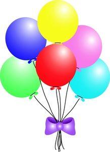 Clip art of balloons. Balloon clipart