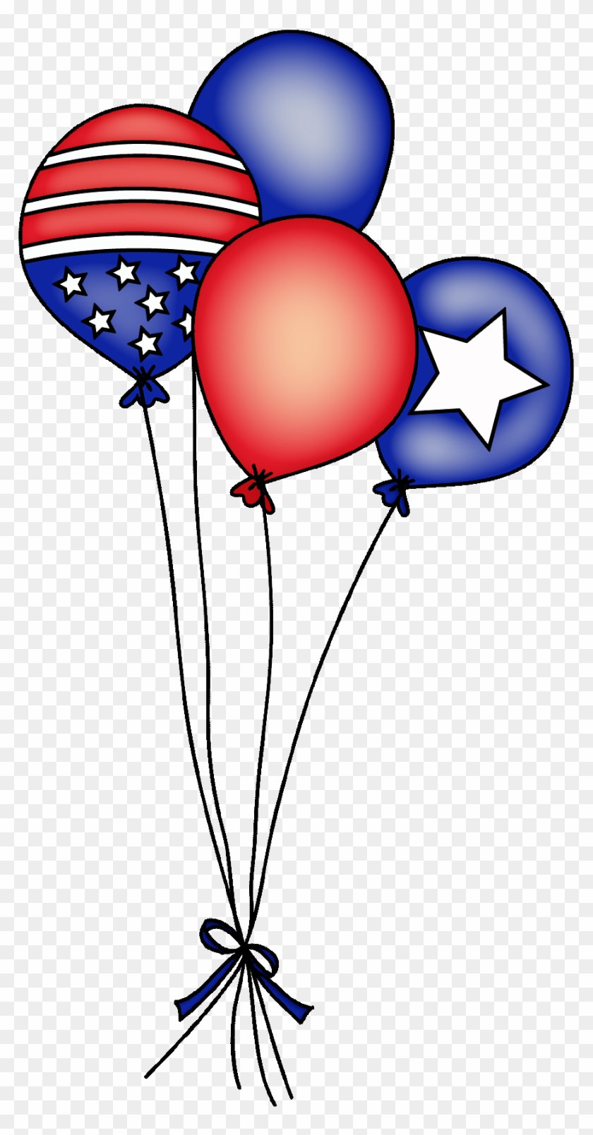 Daydream designs by diane. Clipart balloon 4th july