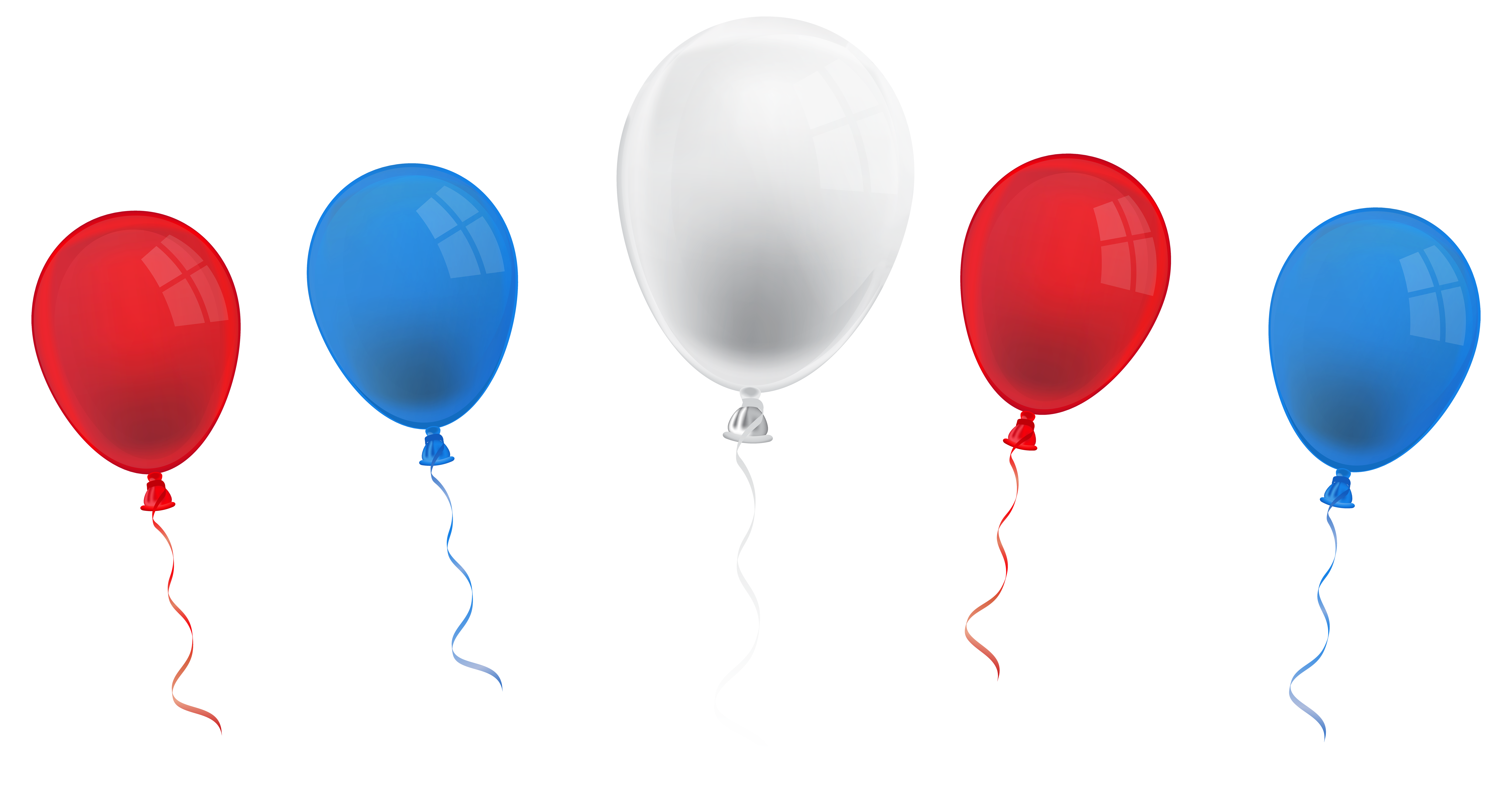 Clipart balloon 4th july.  th balloons png