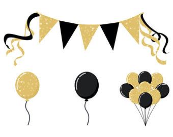 Balloons etsy studio party. Balloon clipart ballon