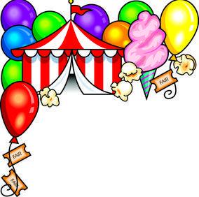 Games . Balloon clipart carnival