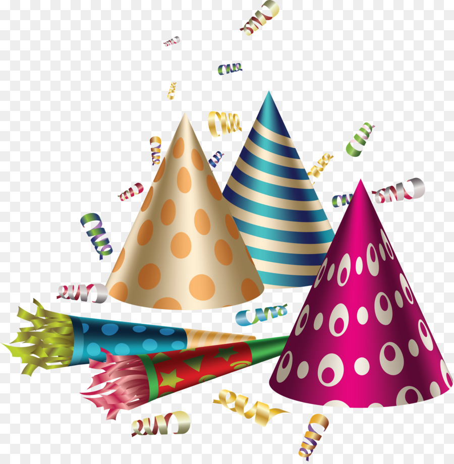 Balloon clipart carnival. Party hat birthday clip