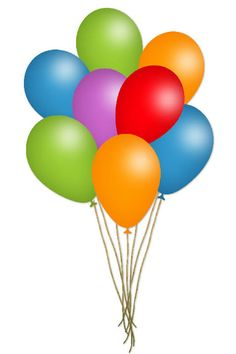 Clipart balloon carnival. Balloons