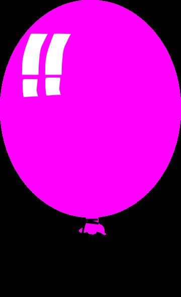 Balloon clipart cartoon. Pink panda free images