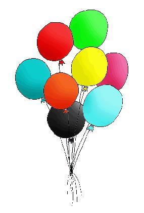 new year clip art balloon clipart christmas