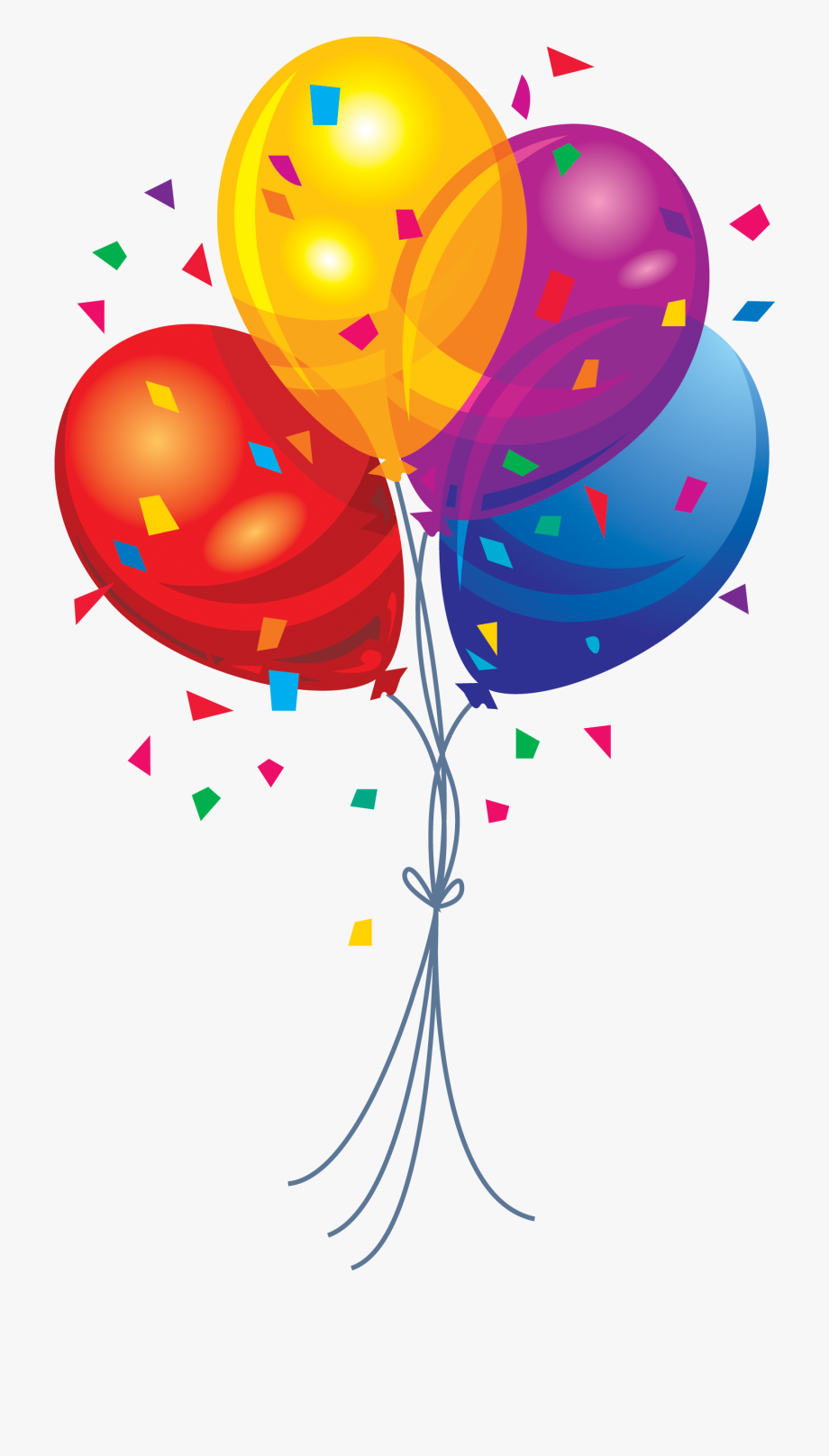 S png image birthday. Balloon clipart clip art