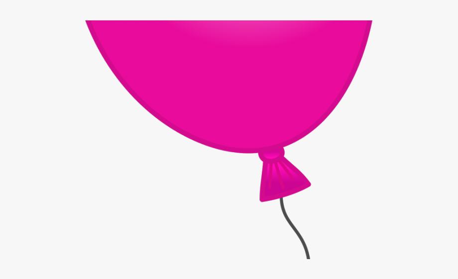 Balloons transparent background clip. Clipart balloon magenta