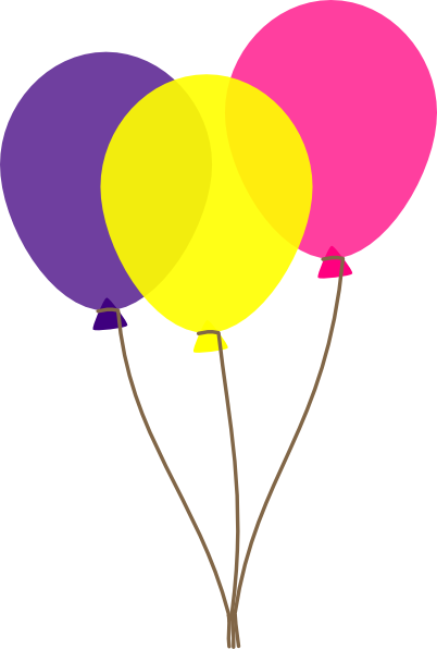 Colors clip art at. Balloon clipart easter