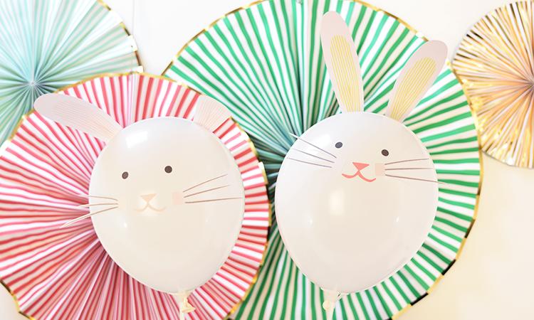 How to bunny balloons. Balloon clipart easter