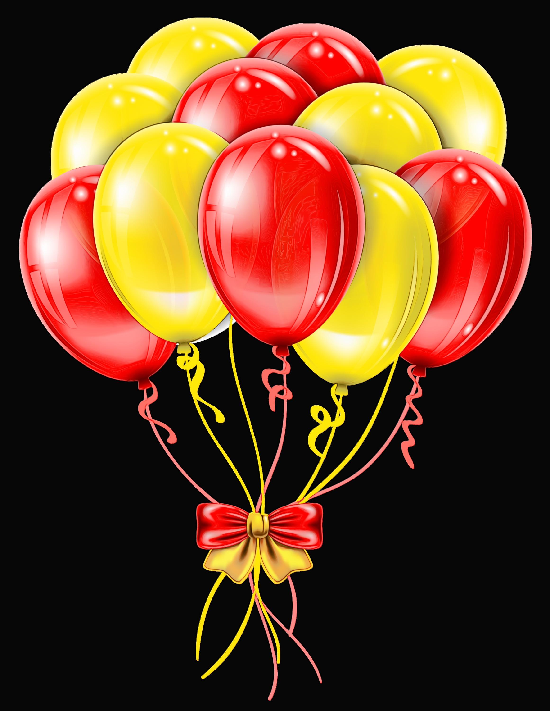 Transparent balloon large clip. Balloons clipart elegant