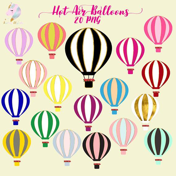 Hot air balloons gold. Balloon clipart fancy