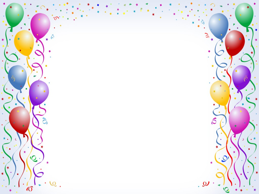 Balloon clipart frame. Free borders download clip