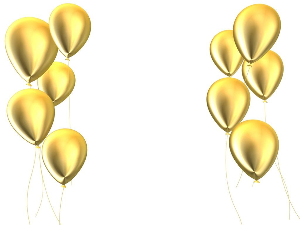 Clipart balloon gold glitter. Image from http www