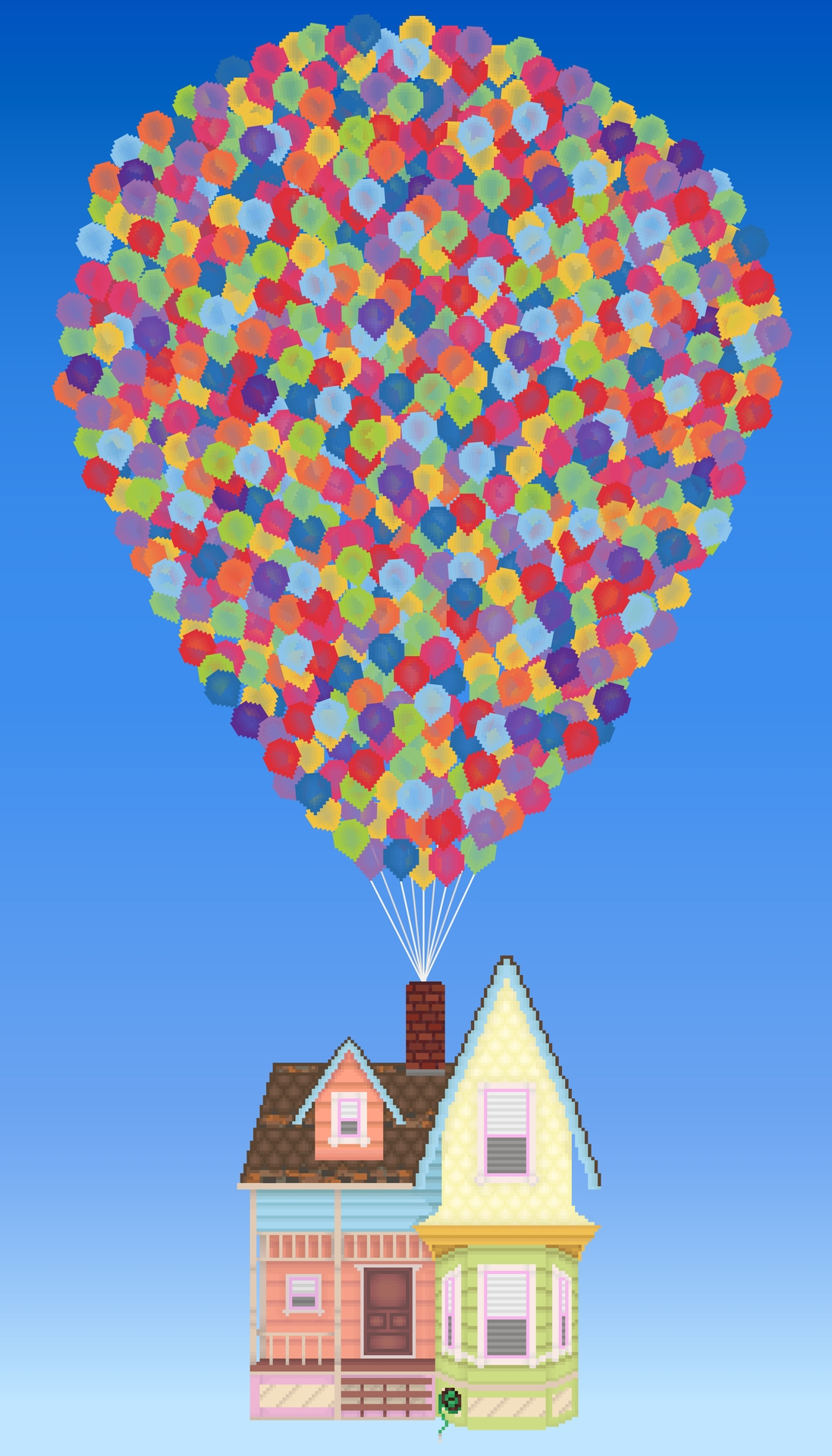 Balloon clipart house. Up drawing at getdrawings
