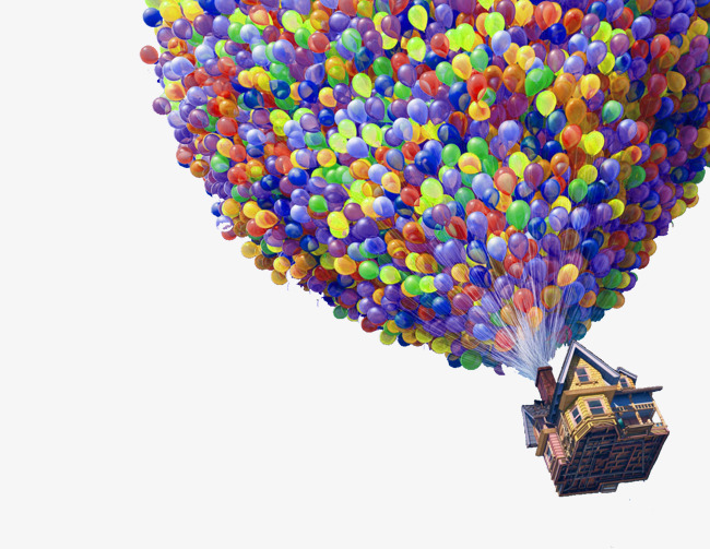 Balloon clipart house, Balloon house Transparent FREE for ...