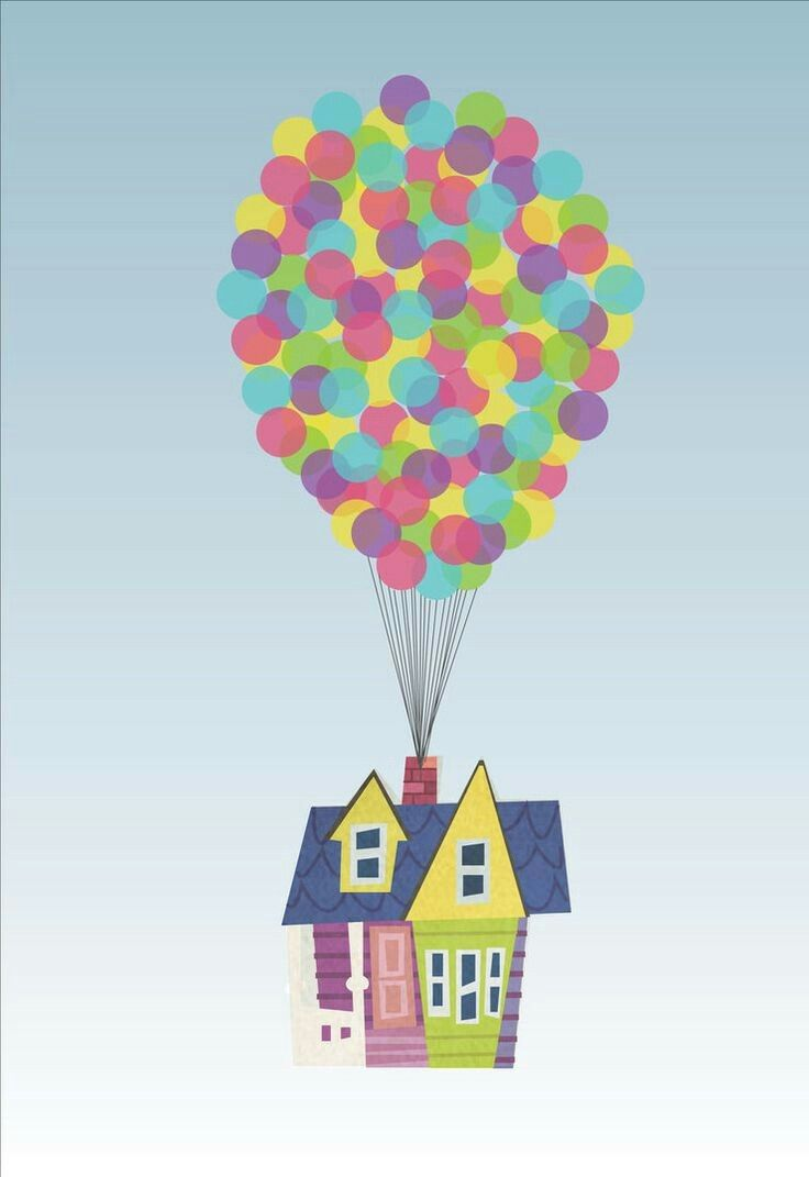 Pin by kerra sole. Balloon clipart house