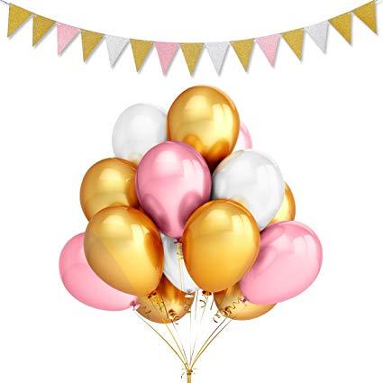 Amazon com leesky pcs. Balloon clipart party balloon