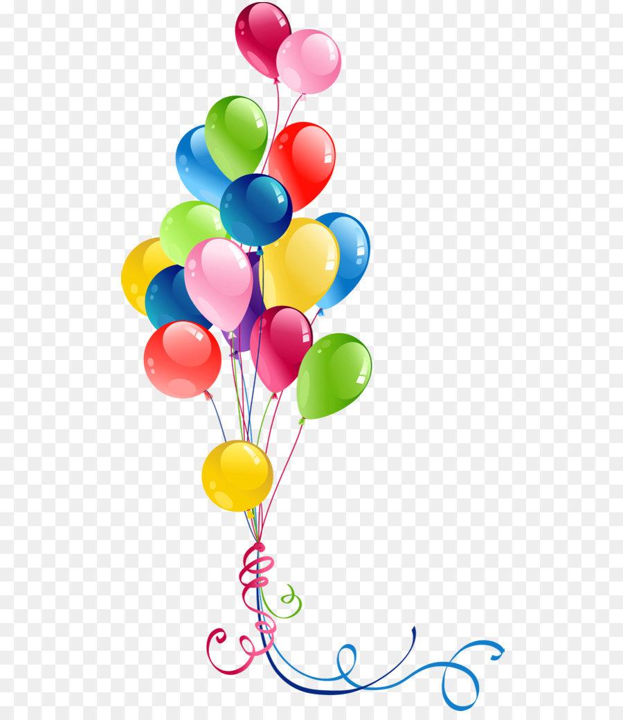 Balloon clipart party balloon. Clip art transparent bunch