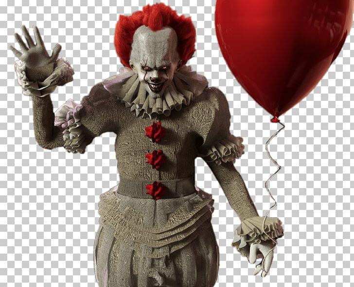It with red png. Balloon clipart pennywise