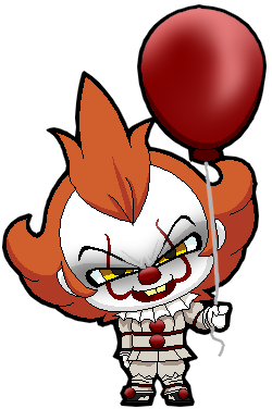 Balloon clipart pennywise. Hello do you want