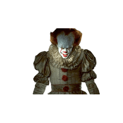 It with red transparent. Balloon clipart pennywise