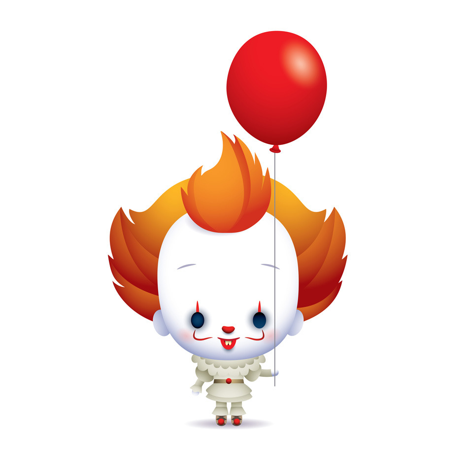 balloon clipart pennywise
