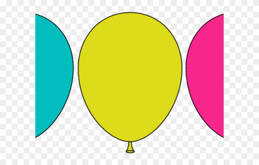 Circle png download . Balloon clipart printable