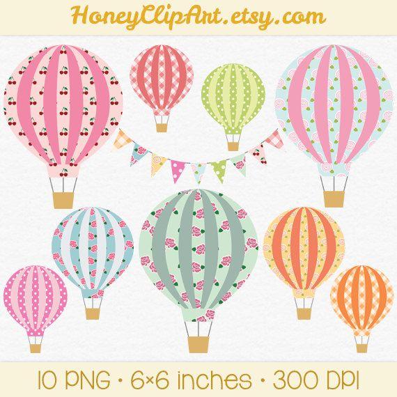 best hot air. Balloon clipart printable