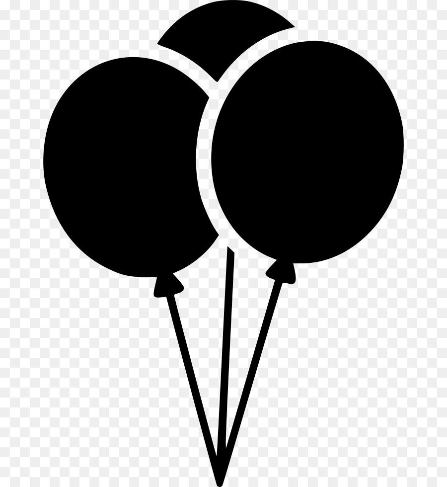 Best free birthday balloons. Balloon clipart silhouette
