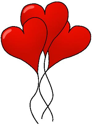 Valentine balloon . Balloons clipart valentines