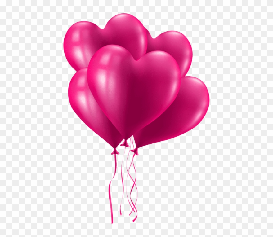 Balloon clipart valentines. Free png download valentine