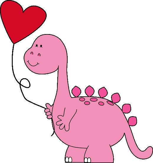 Dinosaur valentine clip art. Balloon clipart valentines