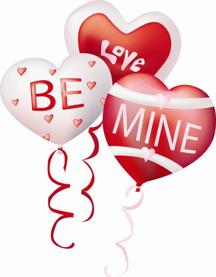 Valentine balloons quotes wishes. Balloon clipart valentines