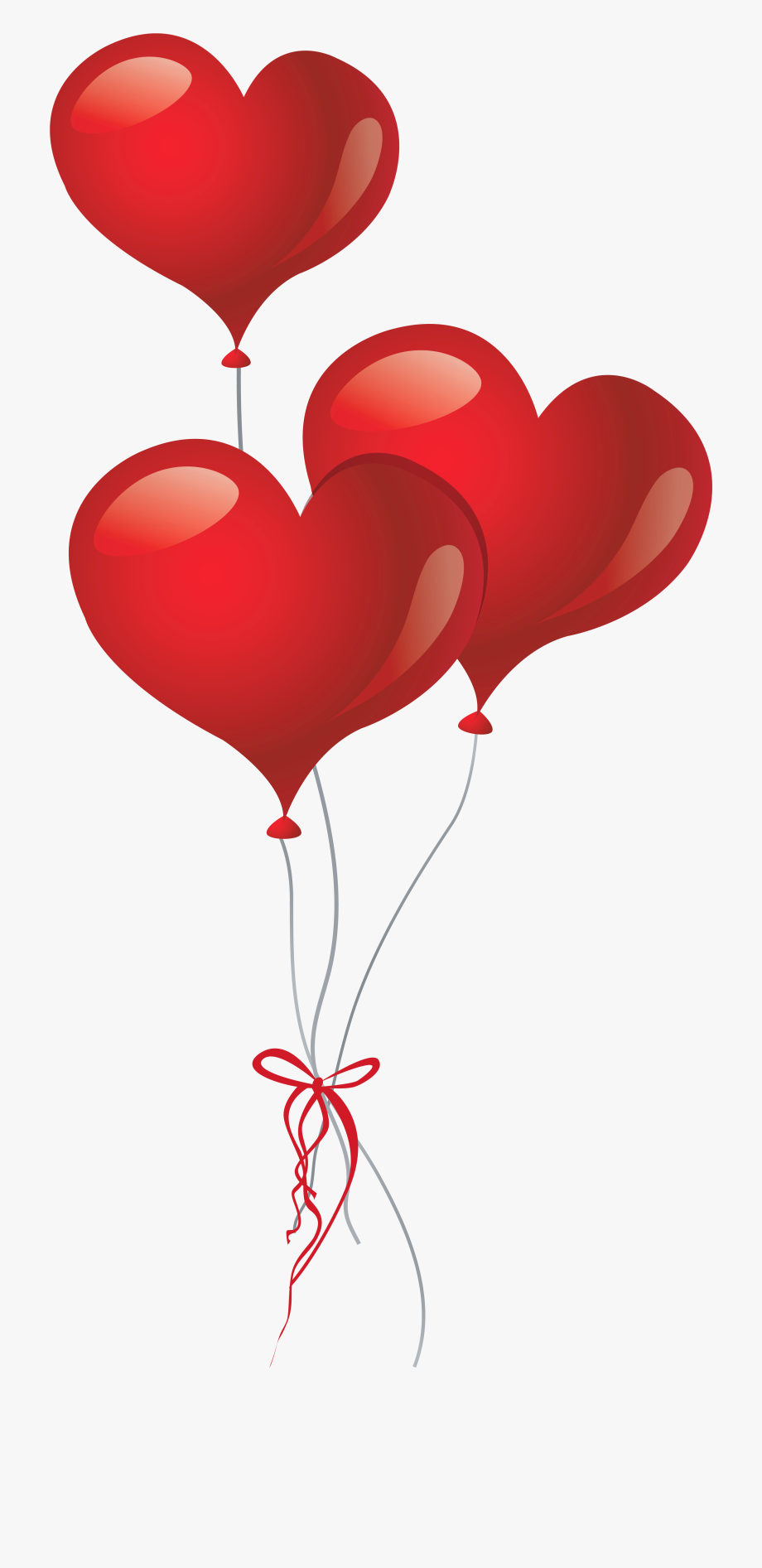 Heart balloon day png. Balloons clipart valentines