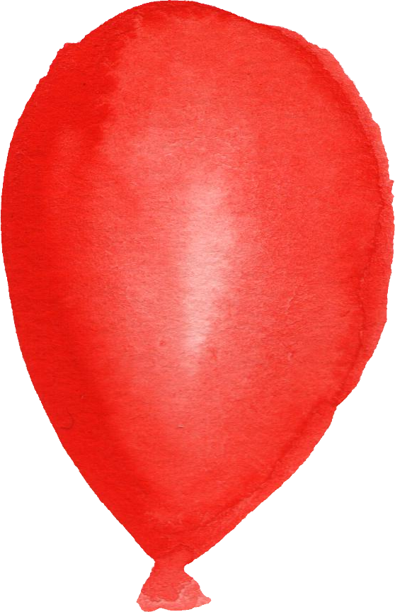 clipart balloon watercolour #62054492