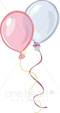 Balloon clipart wedding. Reception balloons decorations