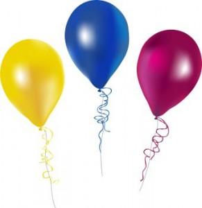 Balloons clipart. Free birthday balloon clip
