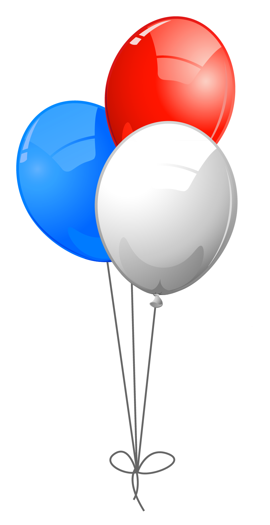 th of balloons. Clipart balloon 4th july