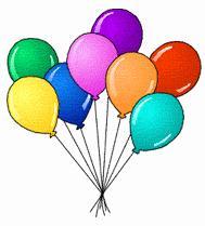 Free balloon. Balloons clipart