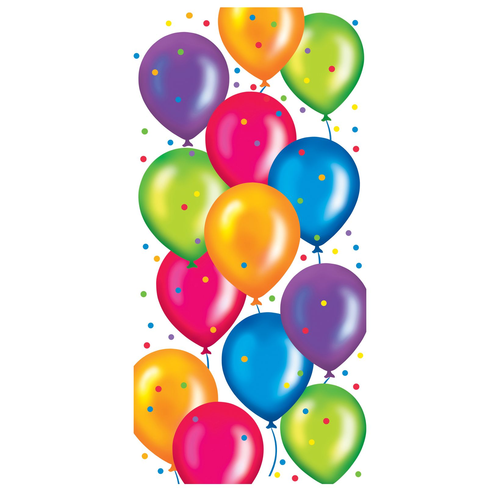 Balloons clipart animated. Birthday cello bags thepartyworks