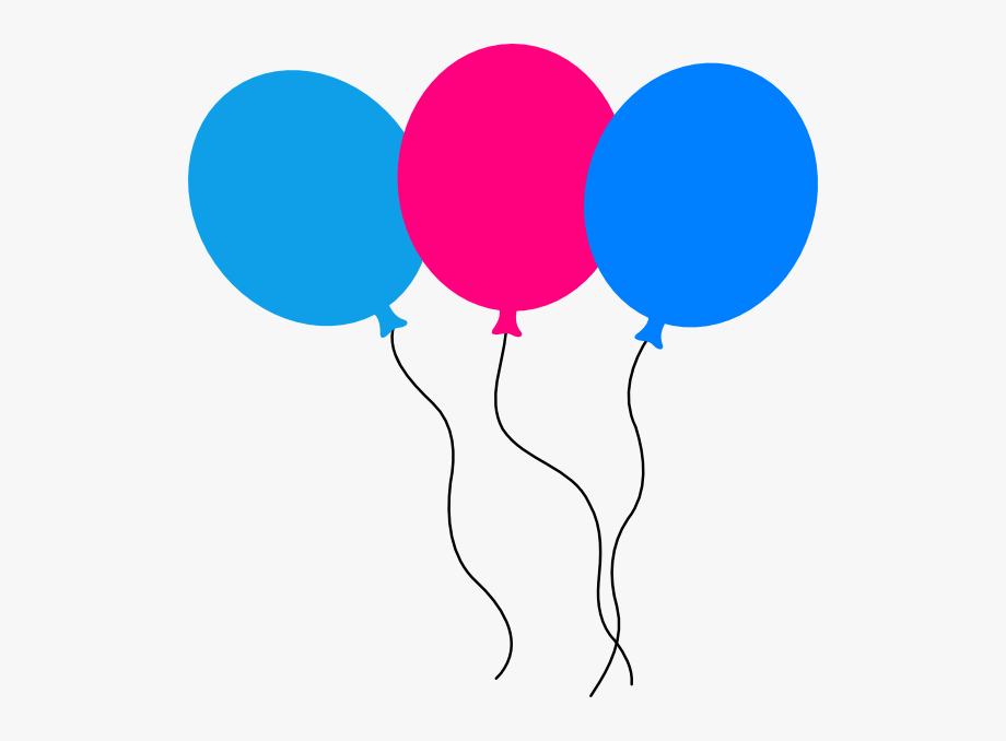 Birthday transparent cliparts cartoons. Balloons clipart animated