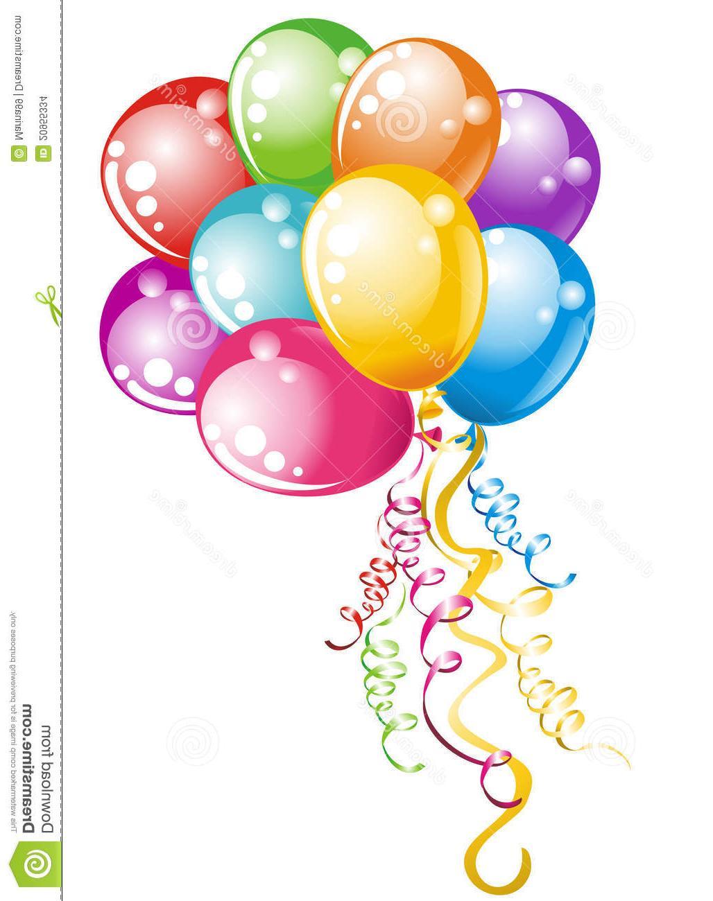 Balloons clipart celebration. Top clip art vector