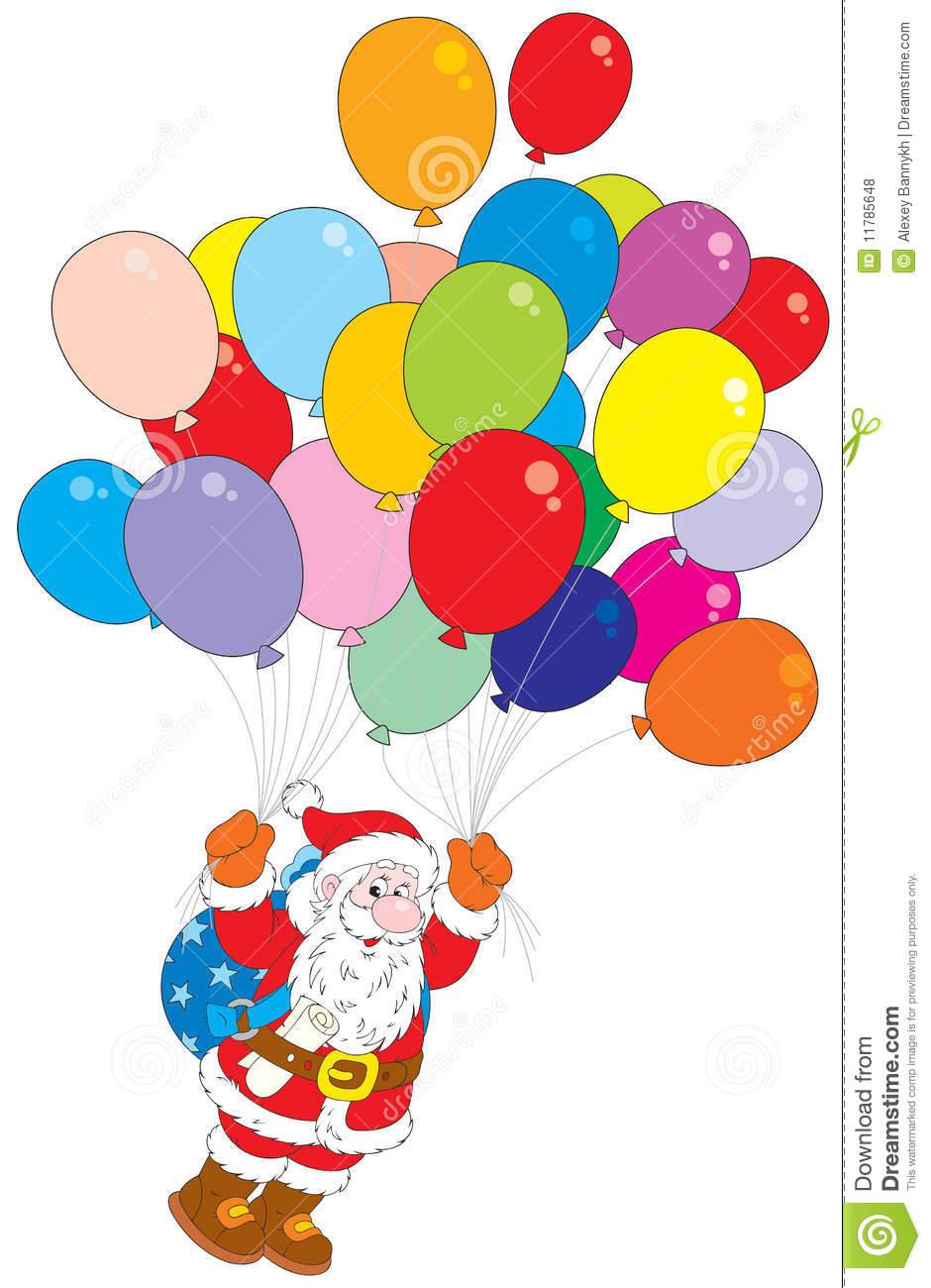 Balloons Clipart Christmas Balloons Christmas Transparent