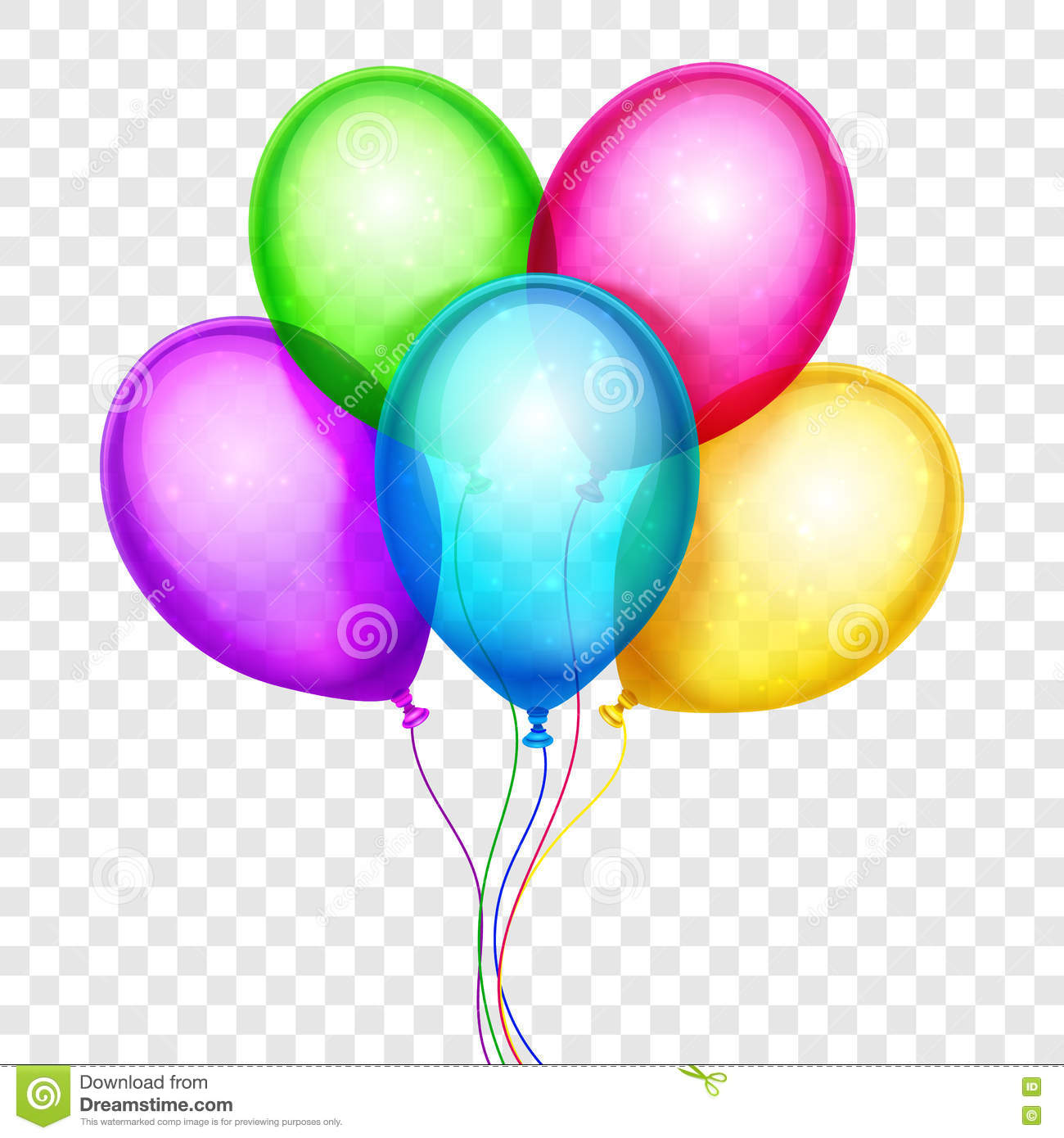 Transparent station . Balloons clipart clear background