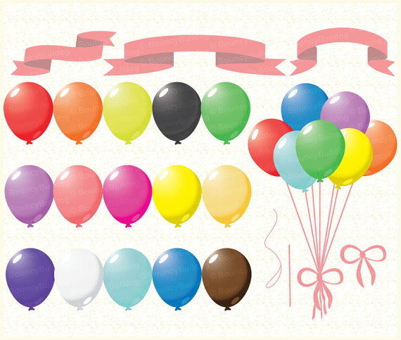 Balloons clipart clip art. Sale balloon commercial use