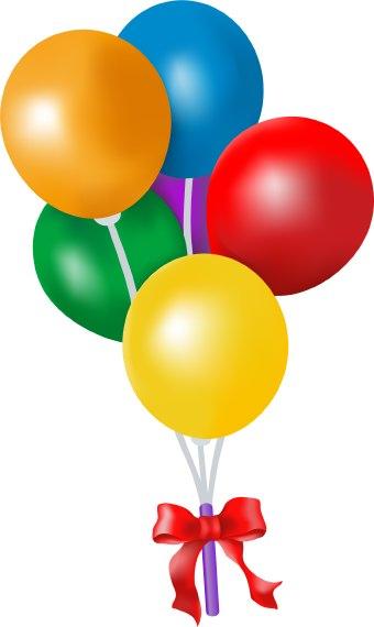 Balloons clipart clip art. Birthday free balloon