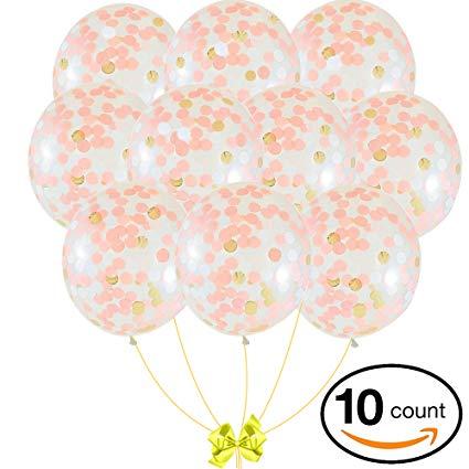 Balloons clipart elegant. Amazon com rose gold