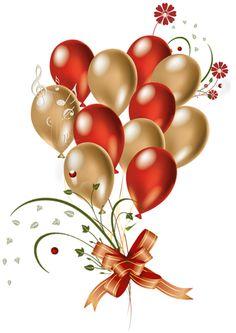 Free birthday balloon clip. Balloons clipart elegant