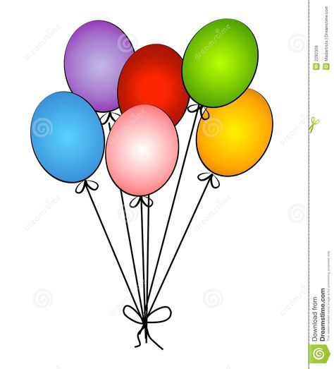 balloons clipart fancy