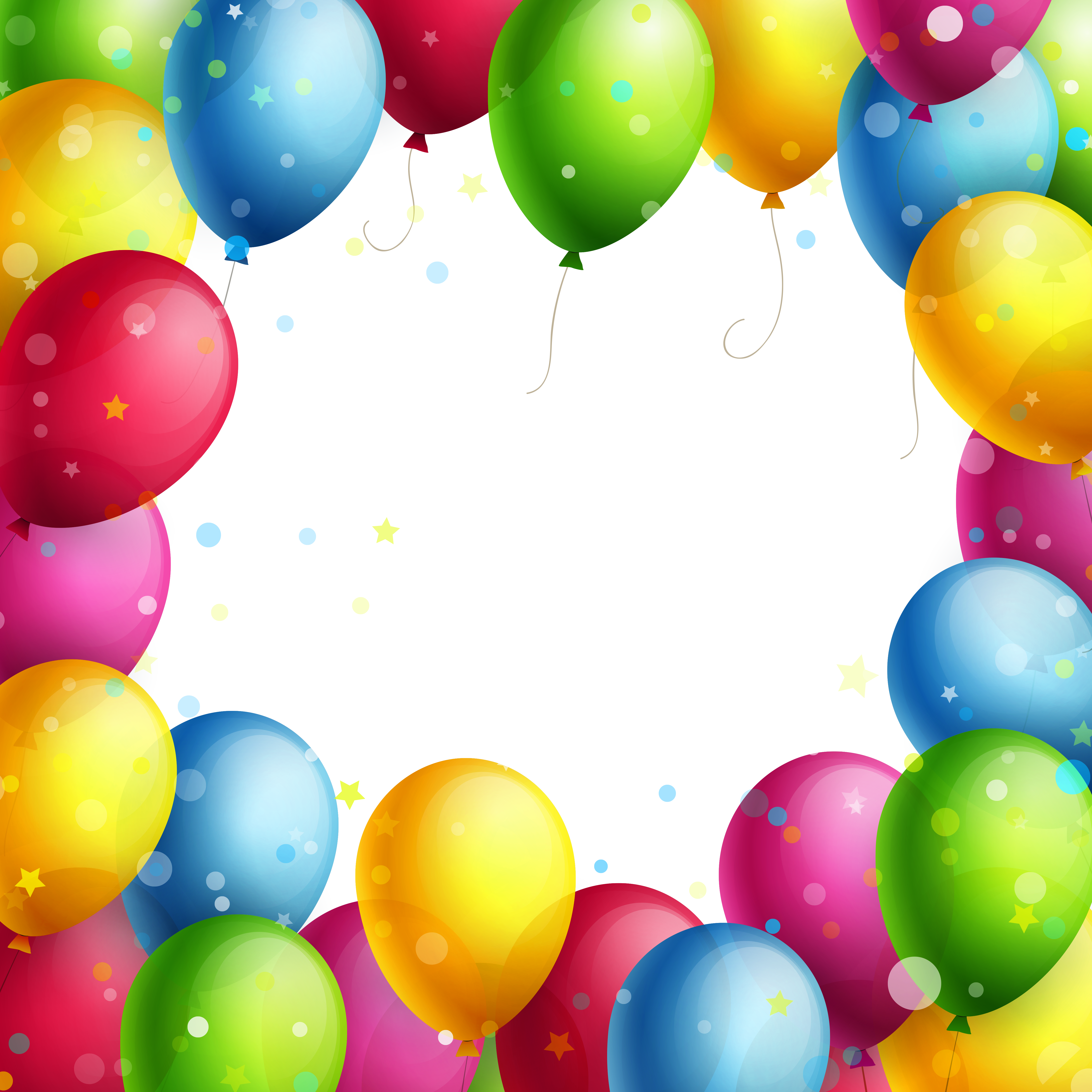 Transparent balloons png gallery. Clipart balloon frame